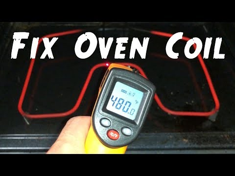 🔥How to Fix GE Oven Not Heating by Replacing Baking Heating Coil Element DIY Easy Home Improvement