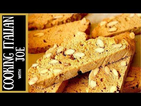 Best Homemade Italian Almond Biscotti Cookies Cooking Italian with Joe