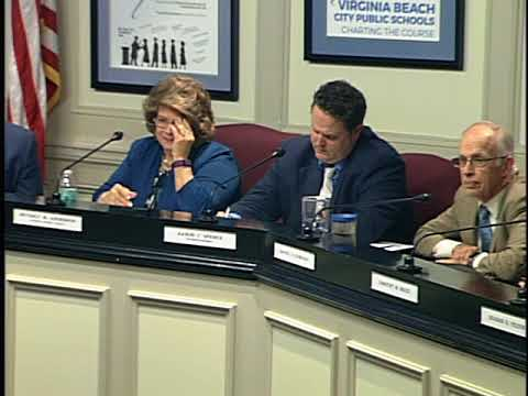 Virginia Beach School Board Meeting February 27, 2018