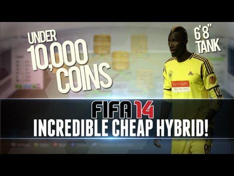 FIFA 14   Incredible, Cheap/Starter HYBRID for UNDER 10k w/ 5 Star Skiller! - Squad Builder #1