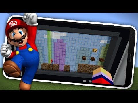 SUPER MARIO LEVELS IN MINECRAFT ! 1.2 !