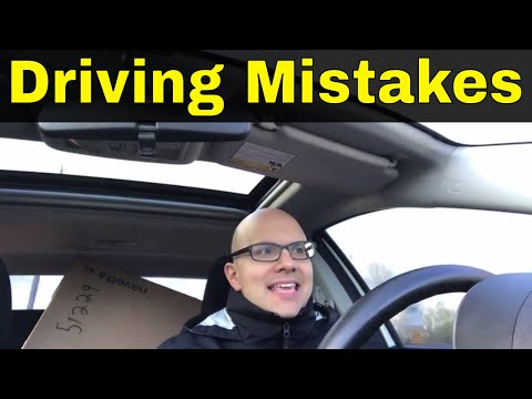 Top 9 Driving Mistakes Of 2018