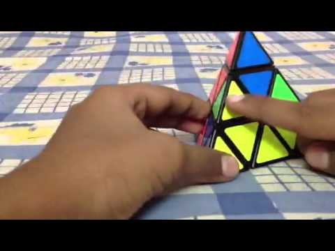 How to solve a Pyraminx (easy and fastest way)