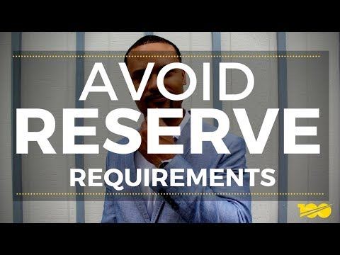 How To Avoid Meeting Reserve Requirements For Each Investment Property You Own