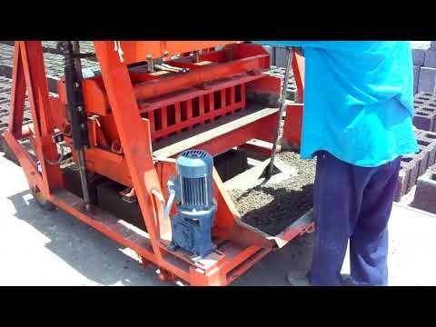 concrete block  machine Global Impex, India