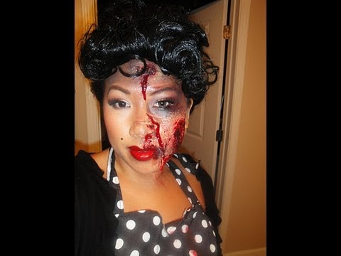 Halloween Makeup - The Walking Dead - Zombie Pin-Up