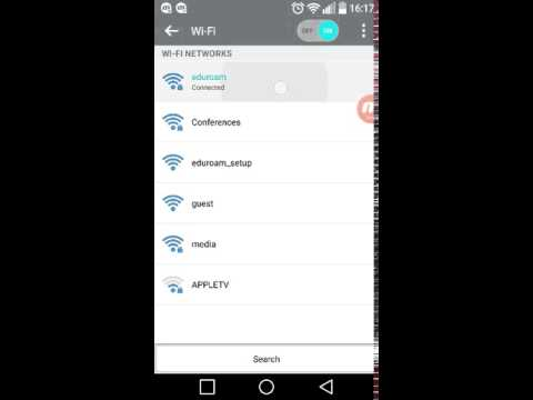 Forgetting WiFi Network - Android