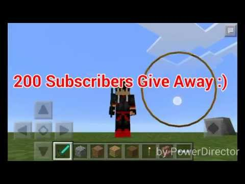 MinecraftPE: How to make your Own Server | Using Your Normal Singleplayer World | 200 Sub Give Away