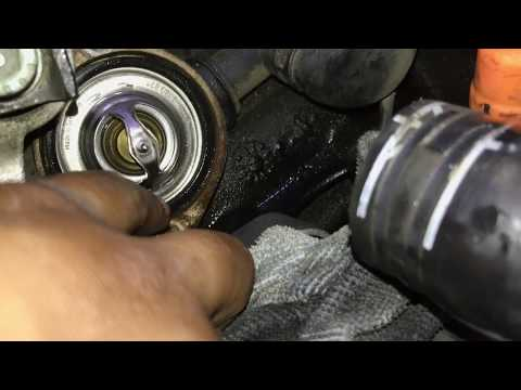 How to replace thermostat on a 1.8T (Audi TT)
