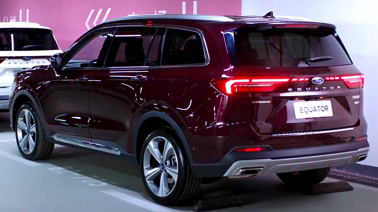New 2022 Ford Equator - Great Family SUV! (6-Seater)