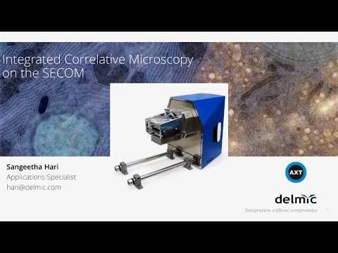 In Situ Correlative Microscopy Webinar Featuring the DELMIC SECOM