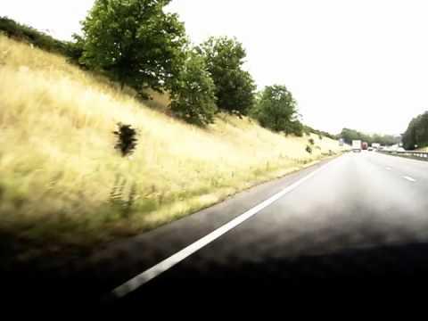 Birmingham to Nottingham - Timelapse