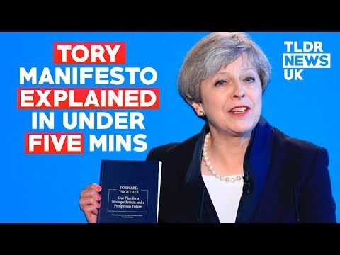 Conservative Manifesto Explained in 5 Minutes