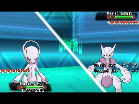 Mega Evolution Battle! Mega Mewtwo Y VS Mega Mewtwo X