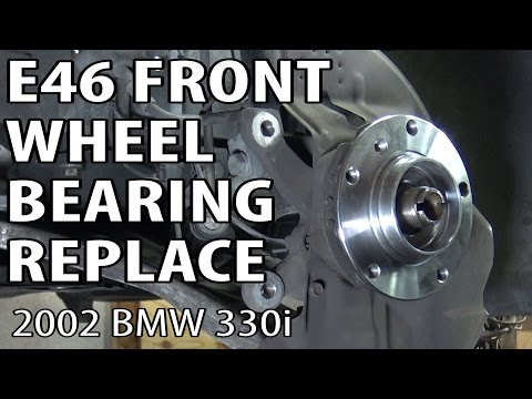 BMW E46 Front Wheel Bearing Replacement