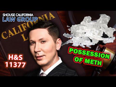 CA Possession of Methamphetamine (Health & Safety Code 11377)