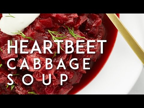 Hunky Heartbeet Cabbage Soup | Oh She Glows