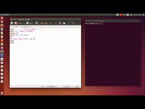 Find prime number in shell programming Bangla