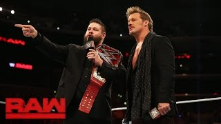 Kevin Owens & Chris Jericho demand a Raw Tag Team Championship opportunity: Raw, Oct. 3, 2016