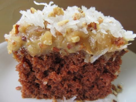GERMAN CHOCOLATE CAKE - How to make GERMAN CHOCOLATE FROSTING