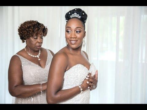 KESHIA'S WEDDING DRESS REVEAL *emotional*