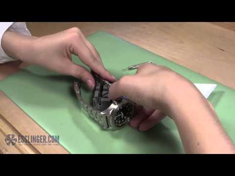 How to Remove Watch Band Pins Cotter & Friction