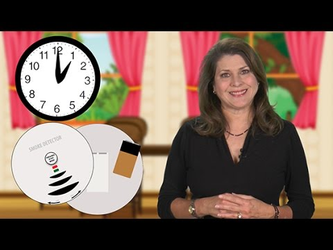 Did You Know - To Check Smoke Alarm Batteries When You Set Your Clock Back