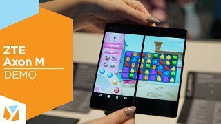 Zte Axon M: Dual-display Phone Hands-on Demo