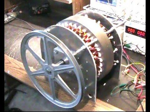 Low RPM 5 kW Generator