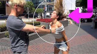 STEALING PEOPLES WALLET - Disappearing MAGIC Trick Prank!!!