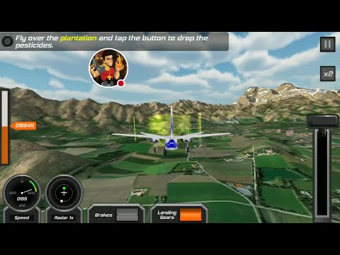 Flight Pilot Simulator 3D HD Gameplay On Android Episode 2
