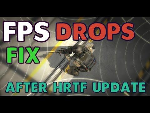 CS:GO - FPS DROPS AFTER HRTF UPDATE [FIX]