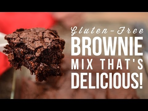 GLUTEN FREE BROWNIE MIX REVIEW