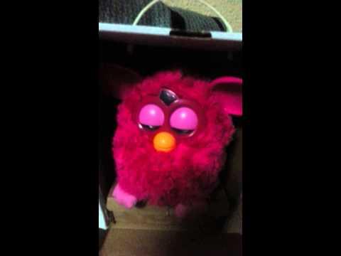 Furby sleeping