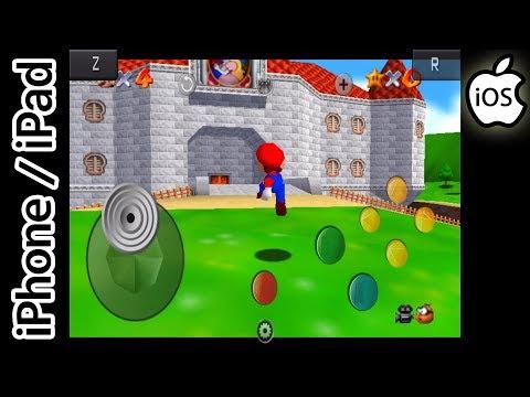 Super Mario 64   Happy Chick Emulator   iPhone / iPad / iOS [1080p]   Nintendo 64