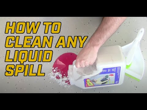 How to Clean up any Liquid Spill