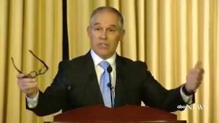 Scott Pruitt Full Speech to EPA Staff   ABC News