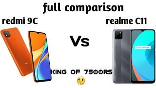 Realme c11 vs redmi 9C full comparison in detail.