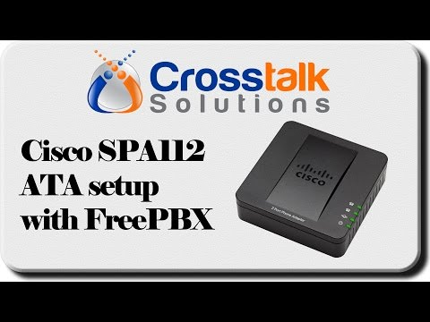 Cisco SPA112 ATA with FreePBX