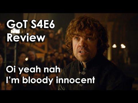Ozzy Man Reviews: Game of Thrones - Season 4 Episode 6