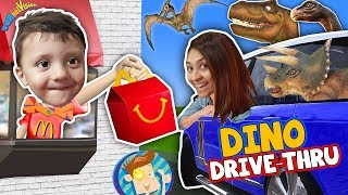 Dinosaurs in our House + McDonalds Magic Trick 4 Mommy FUNnel Vision Vlog New Room Tour