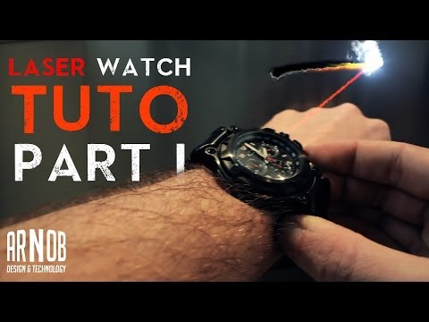 After Effect tutorial: James Bond laser beam watch + Burn marks (part 1)