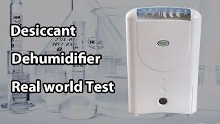 Test of a Desiccant Dehumidifier EcoAir ddw122fw