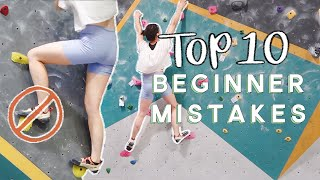 Download Top 10 Beginner Mistakes when Bouldering! Video