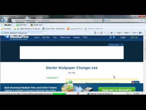 How To Change Desktop Wallpaper In Windows 7 Starter Change