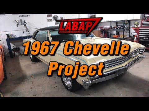 New 1967 Chevelle Restore and Paint Project