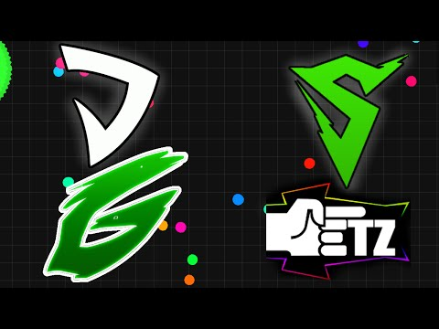 Sirius & Ghost vs  ETZesty & Dandy // Official Agario Match