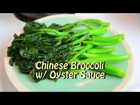 Easy Chinese Broccoli with Oyster Sauce 89