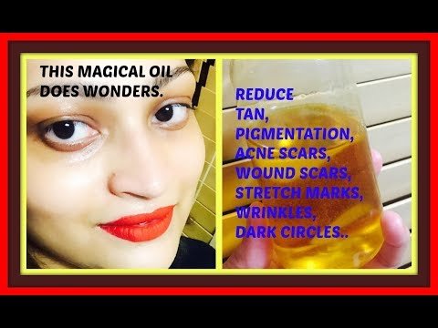 A POWERFUL HOMEMADE VITAMIN E OIL FOR ULTIMATE GLOWING AND HEALTHY SKIN | A MUST TRY |