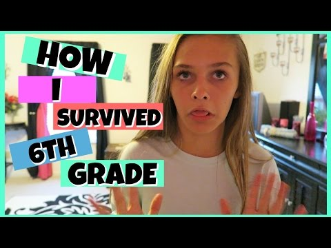 HOW I SURVIVED 6TH GRADE | MIDDLE SCHOOL | Emma Marie's World